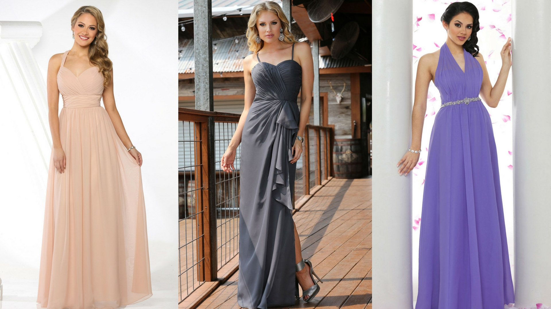 486cd2566b3d Romance is In the Air: 14 Soft Chiffon Dresses for Your Attendants ...