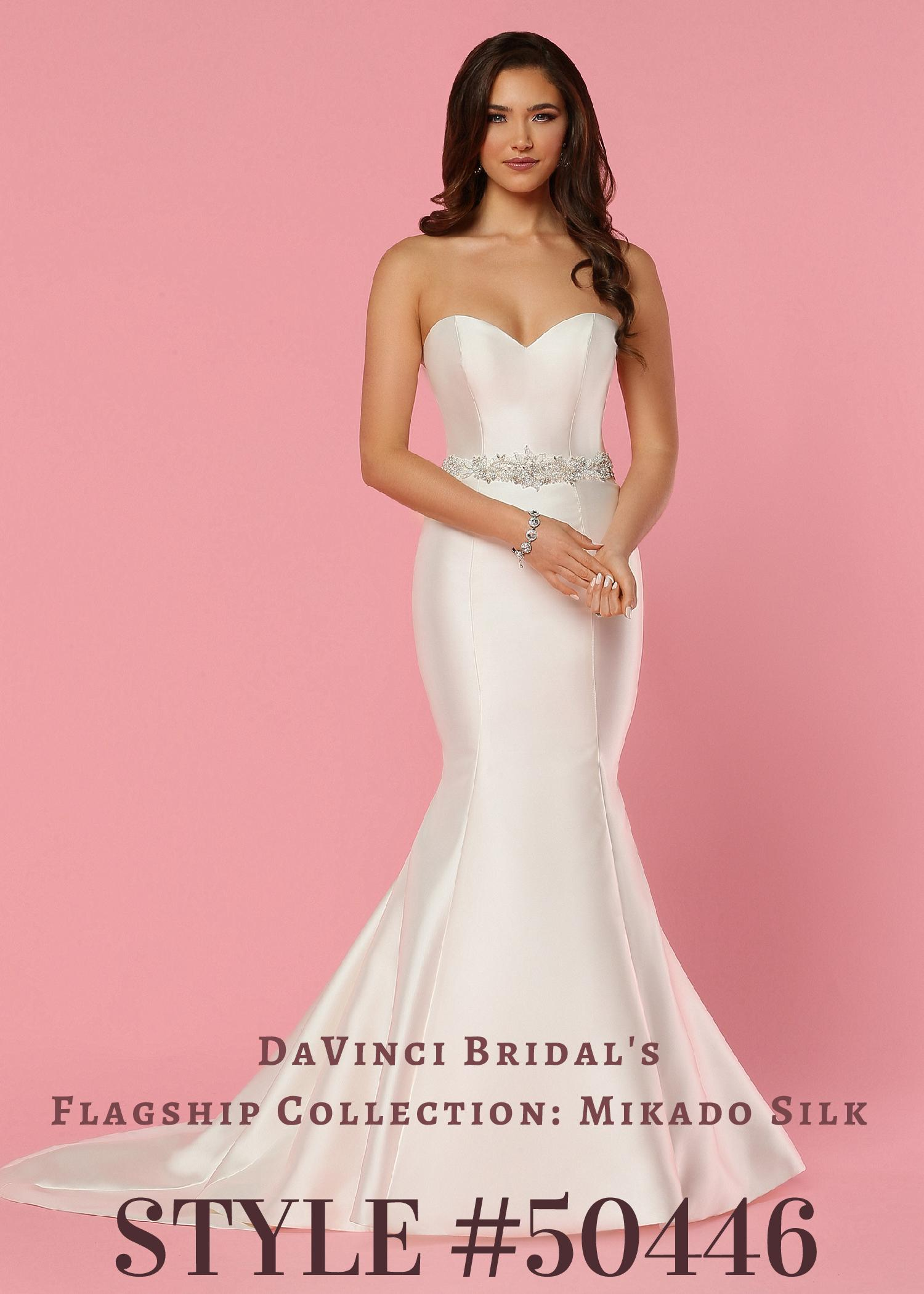 a7a85daa3df0 DaVinci Wedding Dresses | Style 50446 – DaVinci Bridal Collection ...
