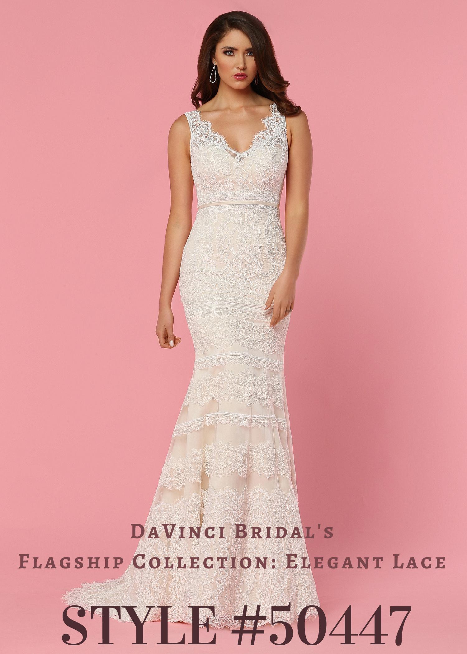 DaVinci Wedding Dresses | Style 50447 – DaVinci Bridal Collection ...