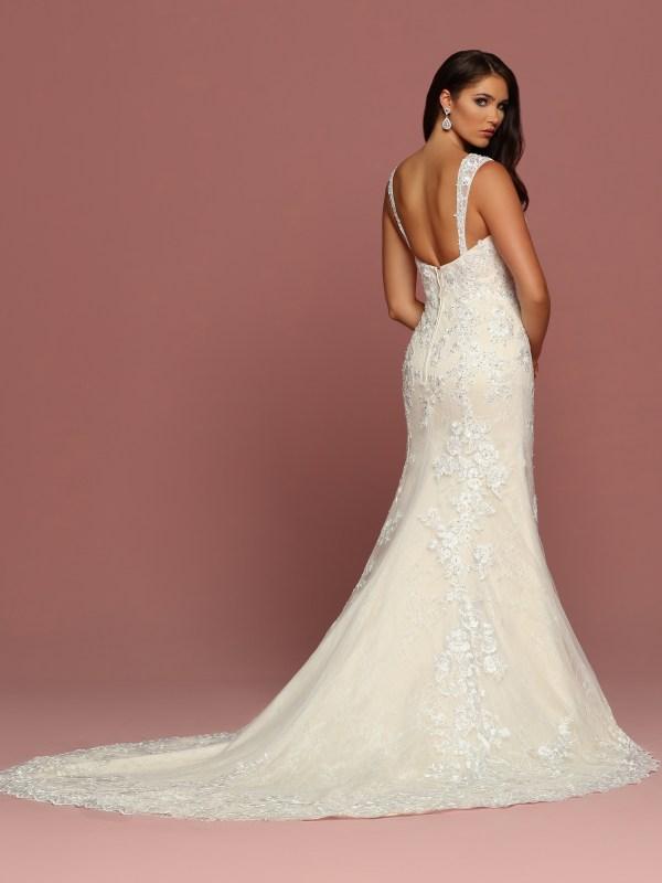 DaVinci Bridal Style #50495 - Back View
