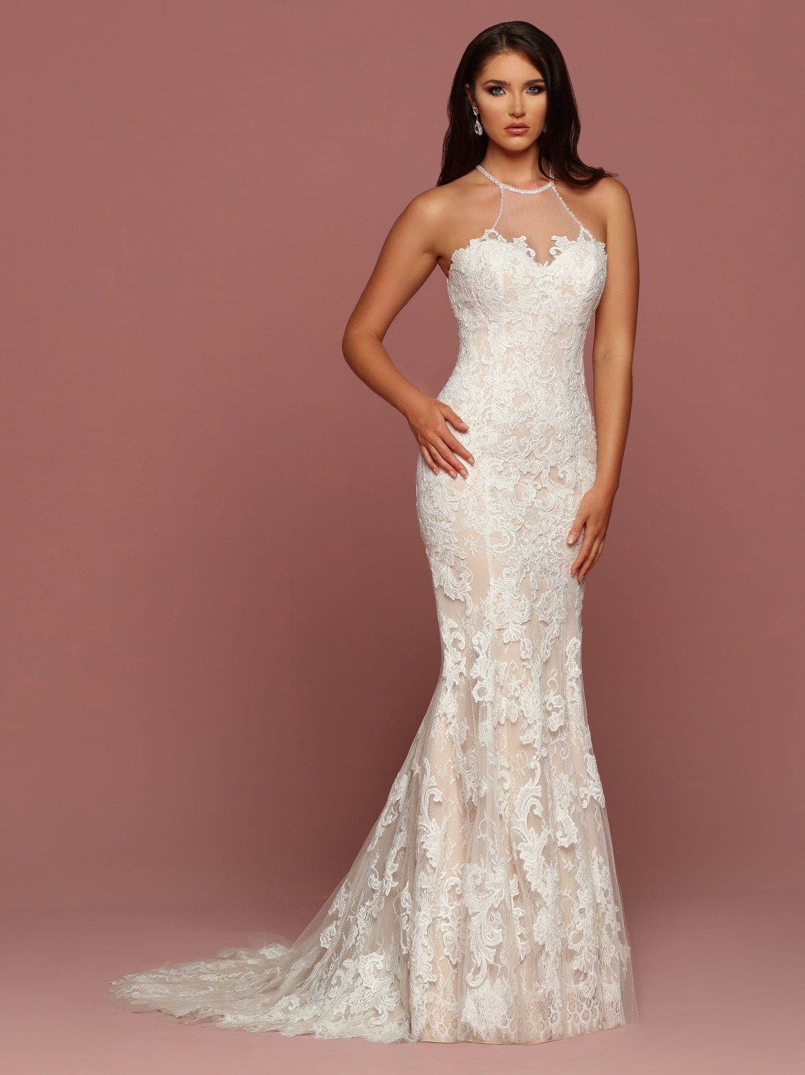 Fashion Focus: Halter Wedding Dress Collection