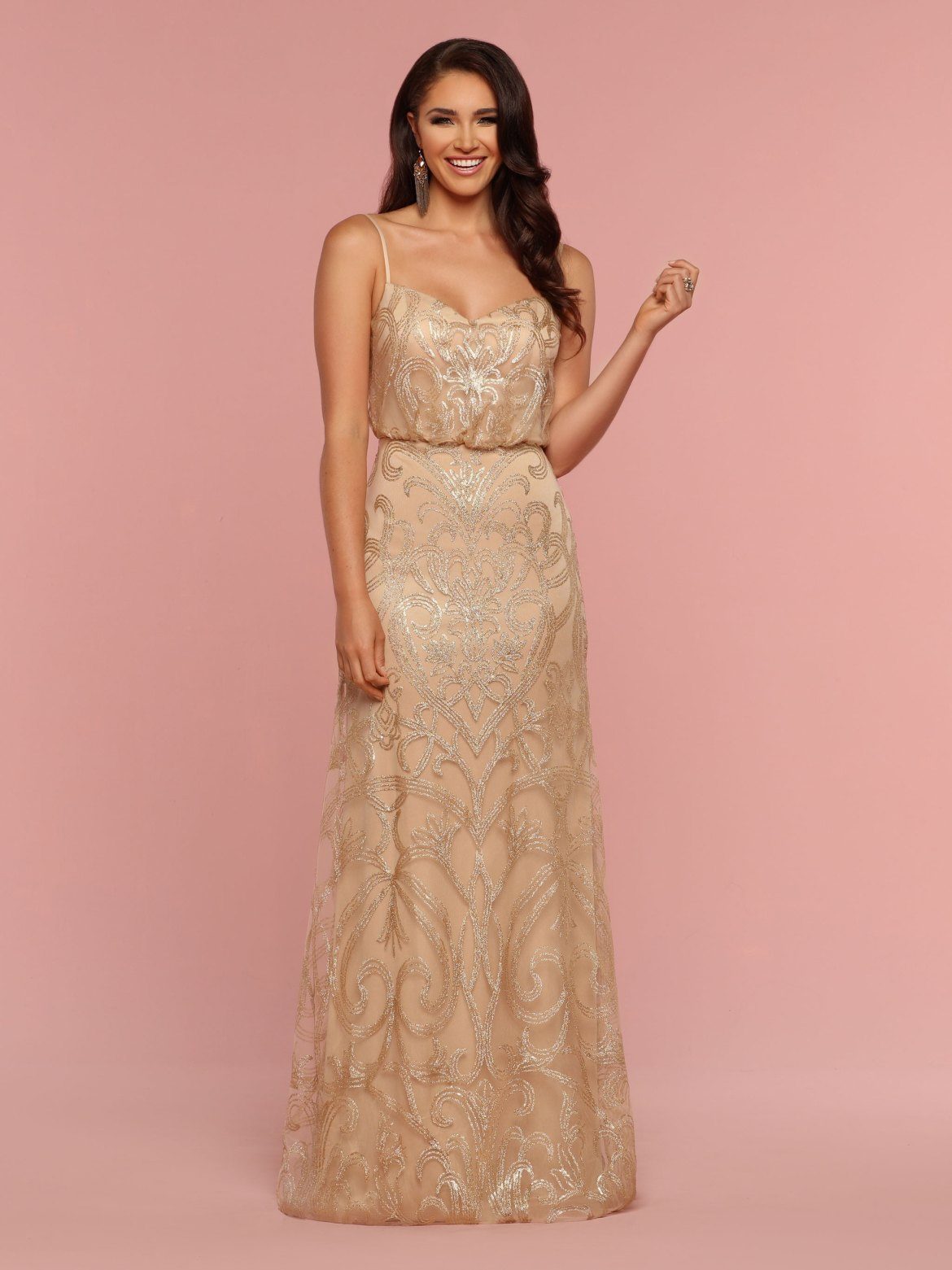 Champagne & Neutral Colored Bridesmaid Dresses