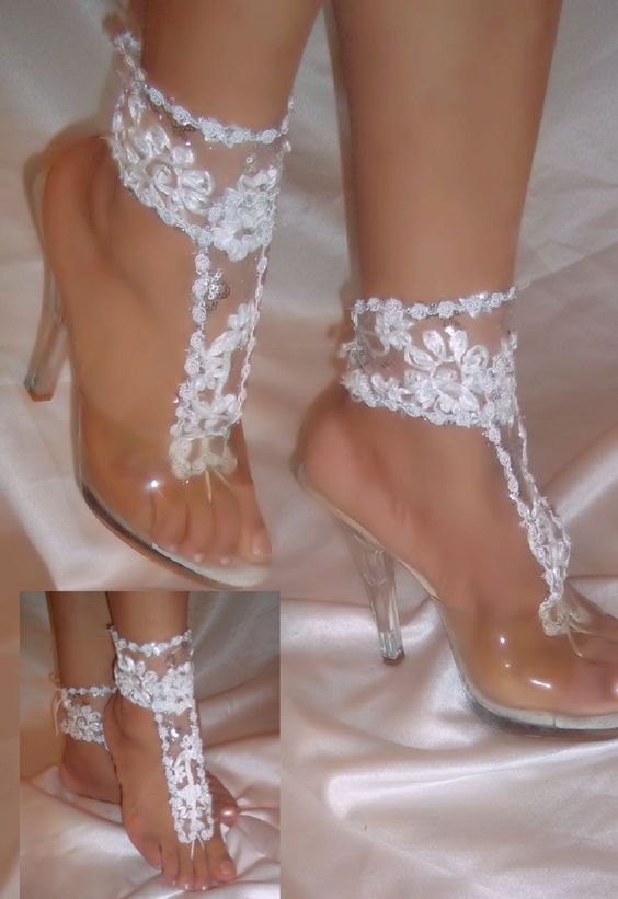 31267c4d0 Congratulations on your wedding! May you be the most Beautiful Barefoot  Cinderella ever!