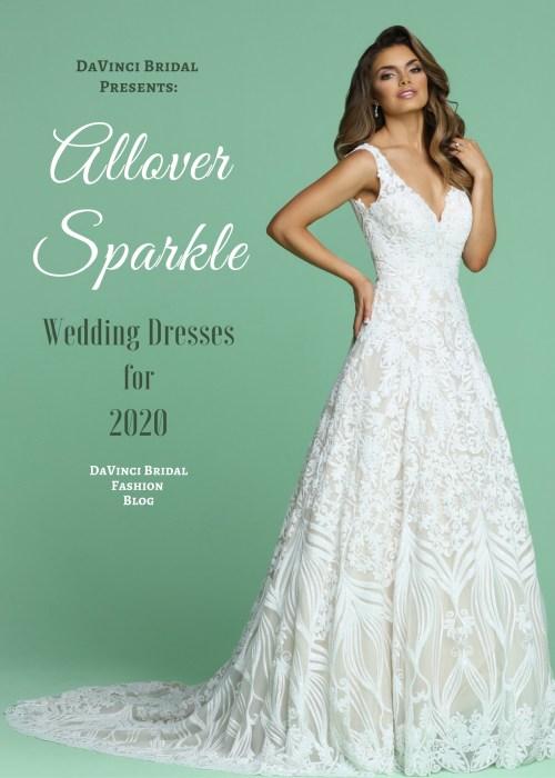 Top Wedding Dress Trends For 2020 Davinci Bridal,Bling Gorgeous Mermaid Wedding Wedding Dresses