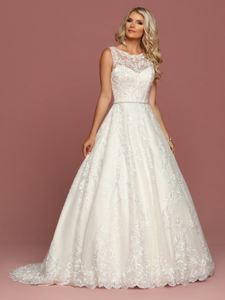 Style  50506   DaVinci Wedding Dresses Front view of Style   50506