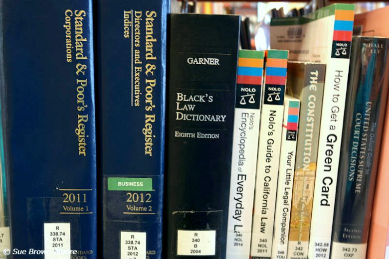 You can learn law at your public library...