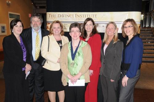 Representatives of Northern Oklahoma College at 2012 Davinci Institute Banquet