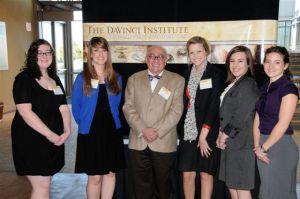 2012 Scholars, Mollie Reid, Krystin Tavard, Taylor Sawyer, Jennifer Woodard Sarah De Toy