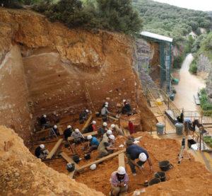 El yacimiento de Gran Dolina en Atapuerca (Burgos). / CENIEH