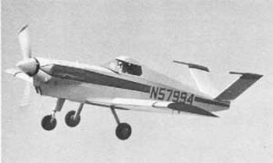 Lean and straight of line, at 140 mph-plus, the DA-5A is awfully fast for an A-65 powered homebuiilt.