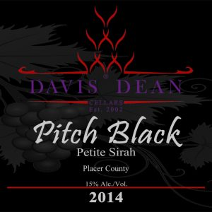 2014 Pitch Black Petite Sirah