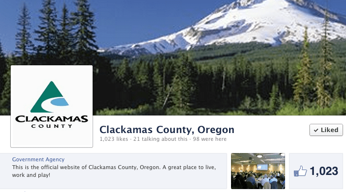 Clackamas County Social Media Policy