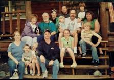 Family picture at Nana's when we got back from Florida