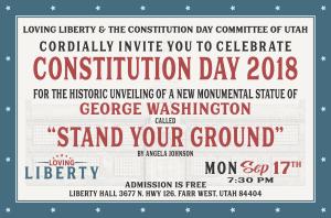 Constitution Day 2018 postcard invite