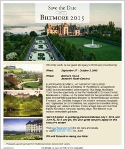 Biltmore House Incentive Trip