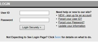 Capture login page Nacolah
