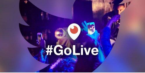 twitter go live