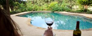 Wine by the Pool