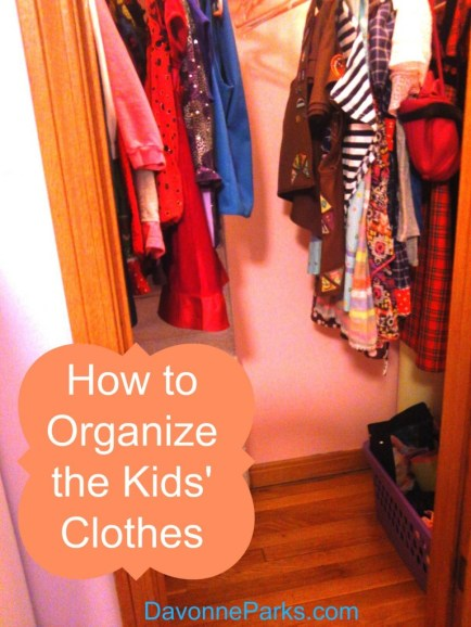 After the hand-me-downs were organized.
