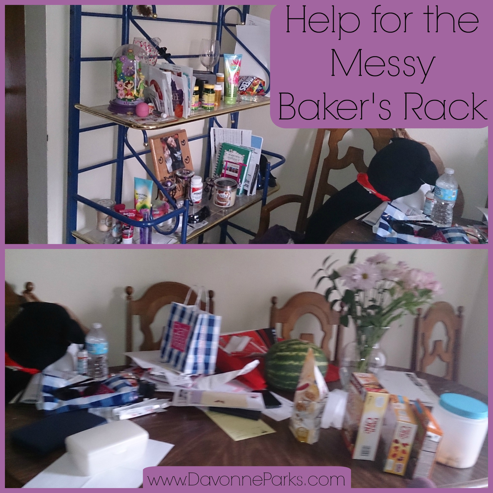 Messy Office Kitchen: Help For The Messy Baker's Rack