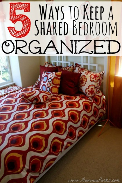 SharedBedroomOrganization
