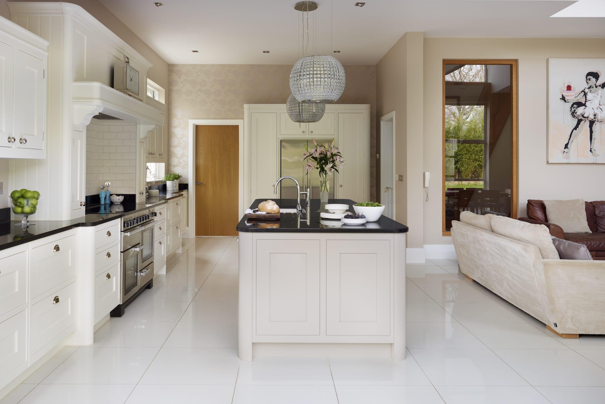 Modern Open Plan Kitchen And Lounge Novocom Top