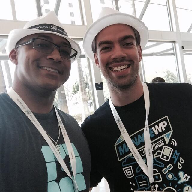 Jathan from WP Engine and I