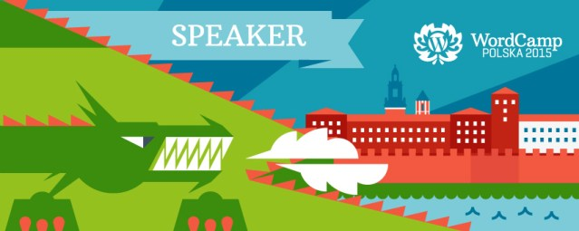WordCamp Poland speaker cover