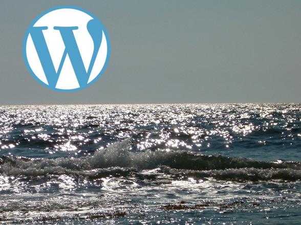 WordPress at the Sea