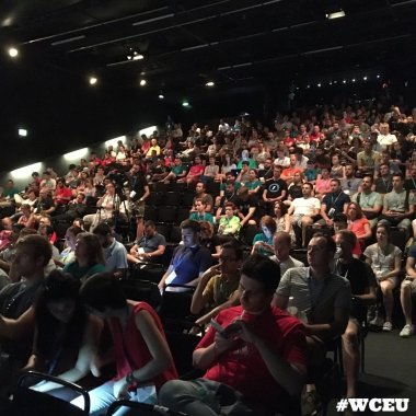 Audience at WordCamp Europe 2016