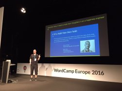 Speaking at WordCamp Europe 2016