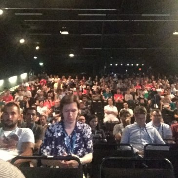 Audience at WordCamp Europe 2016