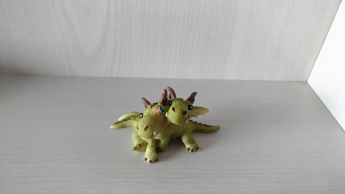 two-headed dragon
