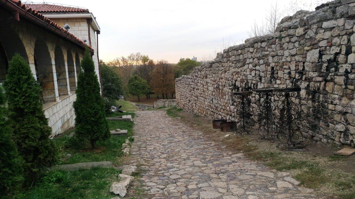 road at Kalemegdan