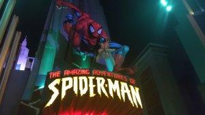 Universal Studios Marvel park Spiderman