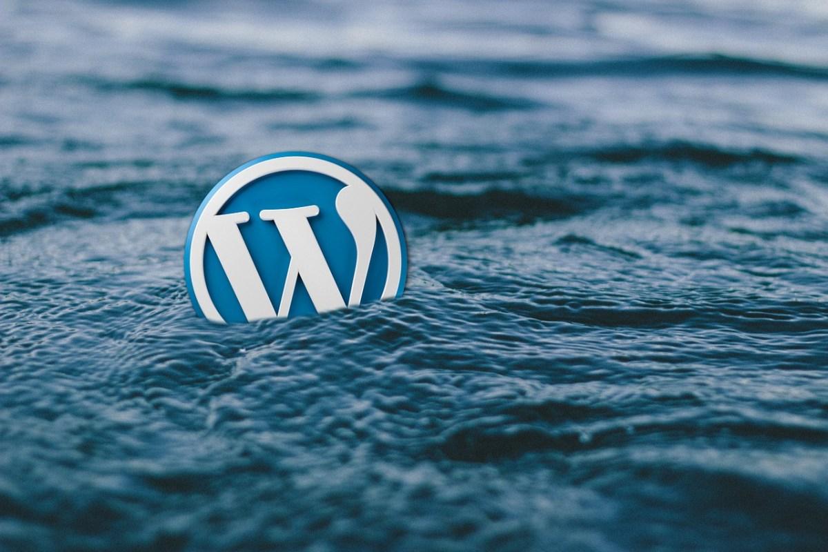 WordPress and the sea