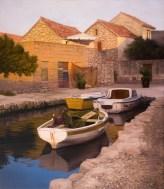 Warm Shades, oil on canvas, 70x60 cm