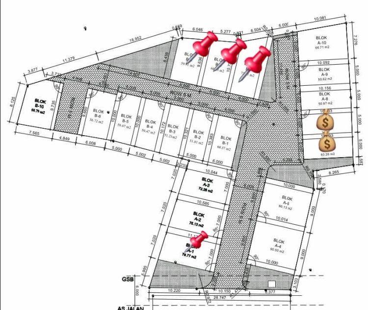 perumahan syariah tangerang - perumahan syariah serpong - site plan 27 juni 2020 - davpropertysyariah - almadinapremiere