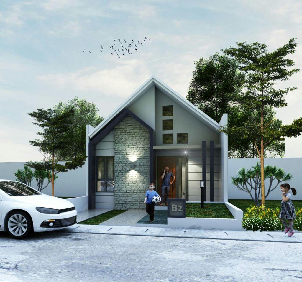 perumahan syariah setu - perumahan syariah bekasi - desain 3d 1 - maryam residence - davpropertysyariah