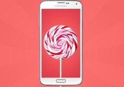 Samsung Galaxy S5 İçin Android 5.0 Lollipop Türkiye'de Yayınlandı