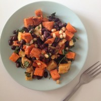 Chipotle Sweet Potato and Black Bean Salad
