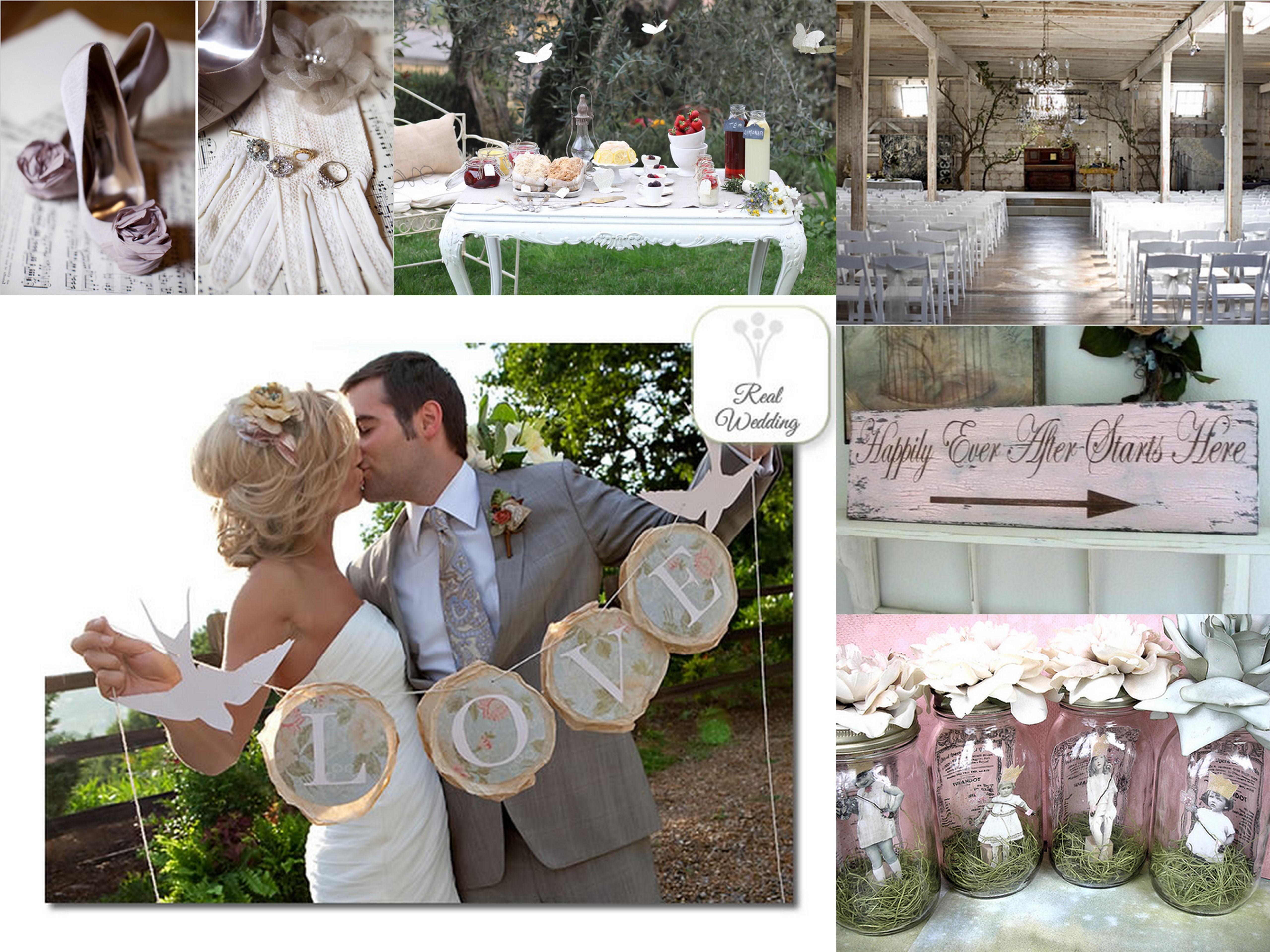 Dunque, come già anticipato il matrimonio dei nostri amici è stato magnifico. Shabby Chic Wedding Inspiration Ii Fantastical Wedding Stylings