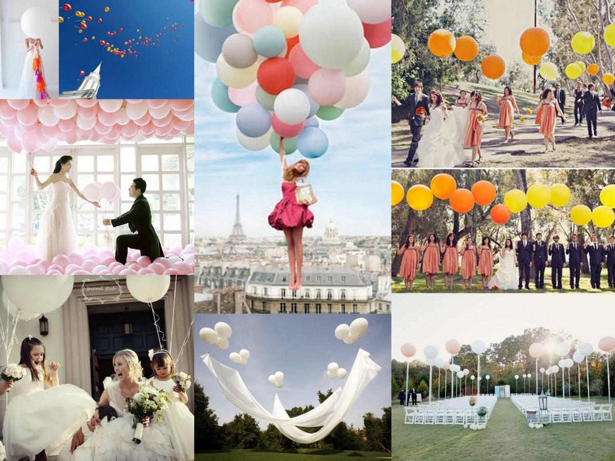 Full Of Hot Hair Balloon Wedding Inspiration