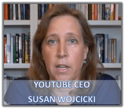 YOUTUBE CEO YOUR OPINION IS A VIOLATION