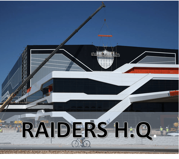 RAIDERS CHANGING STREET NAME FOR H.Q. IN HENDERSON