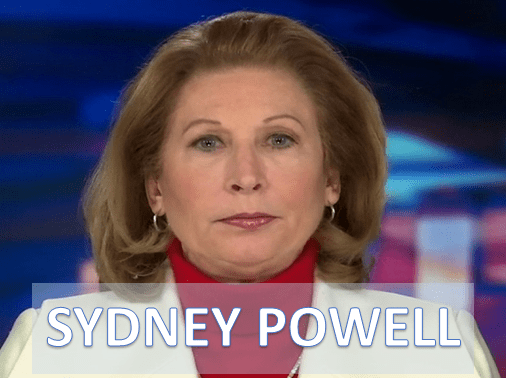 MICHAEL FLYNN CHARGES DROPPED (SYDNEY POWELL)