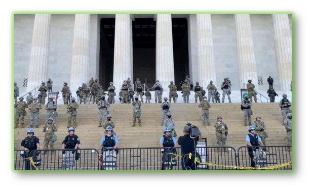 PENTAGON: SEND TROOPS HOME FROM WASHINGTON D.C.