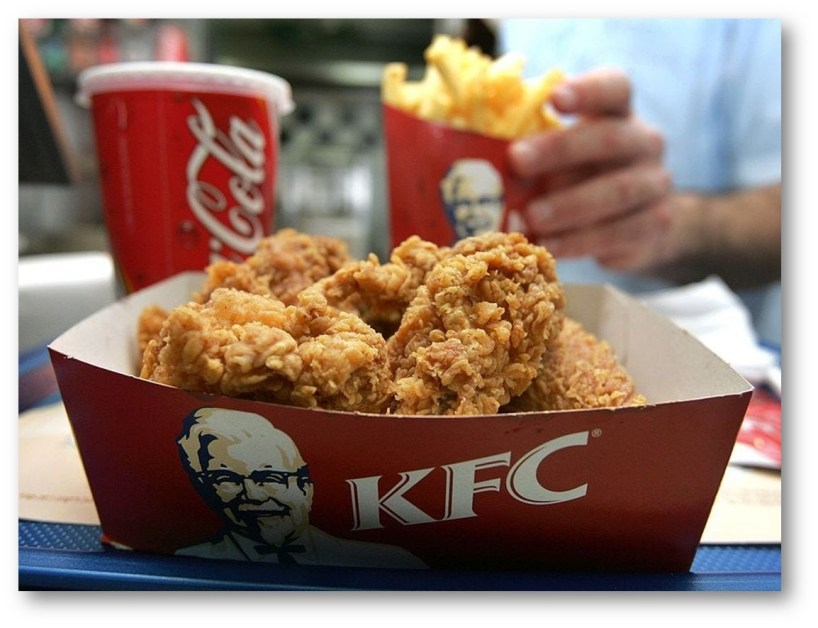 SYNTHETIC KFC MEAT?