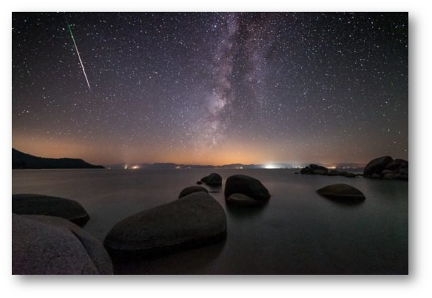 METEOR SHOWERS THIS MONTH