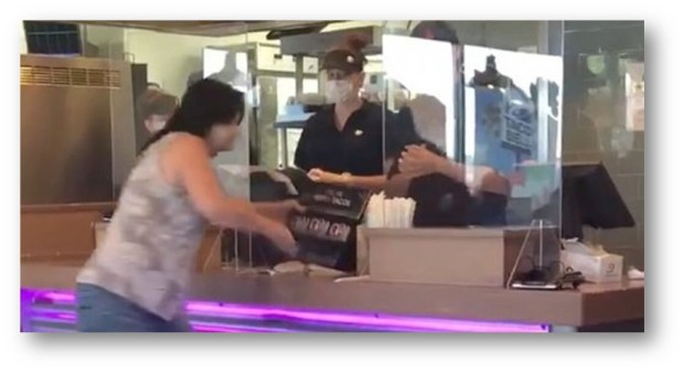 ANOTHER KAREN SIGHTING AT TACO BELL ON VIDEO